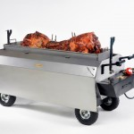 Titan Machine with Roasted Hog